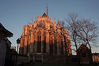 Chevet, Amiens Cathedral, 13th century, Amiens, Somme, Picardie, France Picture by Manuel Cohen