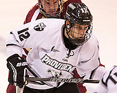 Brooks Dyroff (BC - 14), Stefan Demopoulos (PC - 12) - The Providence College Friars tied the visiting Boston College Eagles 3-3 on Friday, December 7, 2012, at Schneider Arena in Providence, Rhode Island.