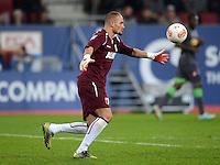FUSSBALL   1. BUNDESLIGA  SAISON 2012/2013   13. Spieltag FC Augsburg - Borussia Moenchengladbach           25.11.2012 Torwart Mohamed Amsif (FC Augsburg)