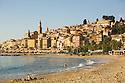 Beausoleil Village on the coastline of Southern France.  Near the Italian border