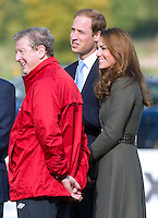 Kate Middleton & Prince William attend the opening of St. George's Park - England