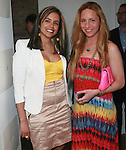MetroGuest Founder and General Manager Gladys Valente and The Creatives Agency's President Susi Kenna Attend the MetroGuest Website Launch Party Event Hosted by So So, Incredibly Beautiful Featuring Artwork by Carlos Charlie Perez and Julio Cesar Gonzalez at The Sky House, NY 5/4/2011