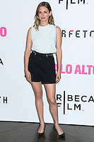 """LOS ANGELES, CA, USA - MAY 05: Nathalie Love at the Los Angeles Premiere Of Tribeca Film's """"Palo Alto"""" held at the Directors Guild of America on May 5, 2014 in Los Angeles, California, United States. (Photo by Celebrity Monitor)"""