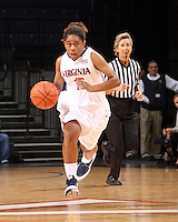 UVa women's basketball payer Ariana Moorer.