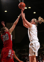 STANFORD, CA - December 14, 2013: Stanford plays the Gonzaga Bulldogs at Maples Pavilion.  Stanford won 73-45.