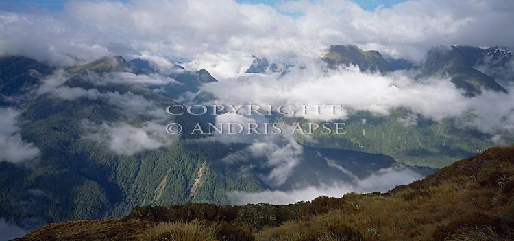 Doubtful Sound. Fiordland National Park. New Zealand.