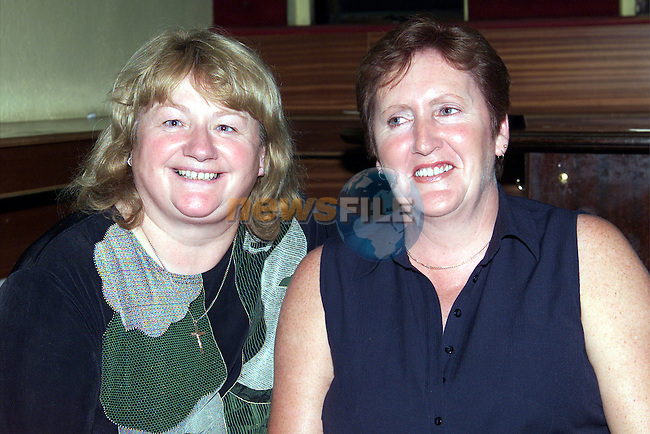 Kathleen Naughton and Babs Carroll enjoying themselves in O'Neill's Duleek..Picture: Paul Mohan/Newsfile