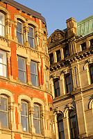Victorian buildings in the city of Saint John, New Brunswick, Canada