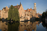 Belfort - Belfry, Bruges; Belgium; Europe