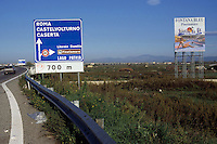 """Il Villaggio Coppola (conosciuto anche come Pinetamare ) è una frazione di Castel Volturno, in provincia di Caserta. Il villaggio, costruito in modo completamente abusivo, è tristemente noto come un simbolo della speculazione edilizia in Italia, tanto che gli è fruttato il nome di """"città abusiva""""..Il villaggio sorse negli anni '60 La lunga storia giudiziaria partì negli anni '70. I processi iniziarono nel 2000 e negli anni seguenti proseguirono ulteriori abbattimenti..Nel luogo si trovano ancora una parte delle dune costiere di Castel Volturno..In place are still a part of the coastal dunes of Castel Volturno....."""