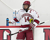 Alexander Kerfoot (Harvard - 14) - The Harvard University Crimson defeated the visiting Cornell University Big Red on Saturday, November 5, 2016, at the Bright-Landry Hockey Center in Boston, Massachusetts.