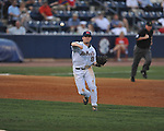 Ole Miss' Austin Anderson (8) vs. Mississippi State at Oxford-University Stadium in Oxford, Miss. on Thursday, May 12, 2011. Mississippi State won 7-6. (AP Photo/Oxford Eagle, Bruce Newman)