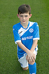 St Johnstone Academy Under 13&rsquo;s&hellip;2016-17<br />Mitchell Findlay<br />Picture by Graeme Hart.<br />Copyright Perthshire Picture Agency<br />Tel: 01738 623350  Mobile: 07990 594431