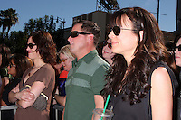 Jorja Fox, George Eads, & Liz Vassey at  the Hollywood Walk of Fame Star Ceremony for WIlliam Petersen in front of Musso's & Franks Resturant in Los Angeles, CA on .February 3, 2009.©2008 Kathy Hutchins / Hutchins Photo..