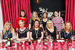 Enjoying a christmas night out were mom's of Scoil Eoin at Denny Lane on Saturday Front l-r Aine O' Mahony, Marie Hayes, Dian O'Shea, Jennifer Lynch, Jenny Barry. Back l-r Stephanie Ronayne, Martina Canty, Sandra O Flaherty and Eleanor Redman
