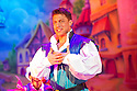 Birmingham, UK. 18.12.2014. Britain's biggest Pantomime opens at the Birmingham Hippodrome on Friday 19th December. Jack and the Beanstalk features a star-studded cast, headed by Loose Woman Jane McDonald (The Enchantress), who makes her pantomime debut, Blue singer Duncan James (Jack), Chris Gascoyne (Peter Barlow) from Coronation Street)(Fleshcreep), Gary Wilmot (Dame Trot), Paul Zerdin (Simple Simon), Matt Slack (Silly Billy), and Robyn Mellor (Princess Apricot). Photograph © Jane Hobson.