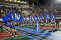 Gamba Osaka Cheer Dance Team, SEPTEMBER 10, 2011 - Football / Soccer : A general view. Gamba Osaka Cheerleading and Dance Team performs before the 2011 J.League Division 1 match between Gamba Osaka 2-0 Omiya Ardija at Expo '70 Stadium in Osaka, Japan. (Photo by AFLO)