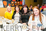 Boro Buffet : Attending the 13th Boro Buffet as part of the Moyvan Village Festival on Saturday nigh last were Janice Gill, Kathy Cameron, Mairead O'Sullivan & Aine Cronin.