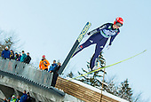 VOGT Carina of Germany competes during 11th Women FIS Ski Jumping World Cup competition in Planica replacing Ljubno  on January 25, 2014 at HS95, Planica, Slovenia. Photo by Vid Ponikvar / Sportida
