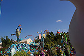 Orlando, Florida<br /> Universal Studios<br /> August 13, 2013<br />  <br /> Universal Studios the Doctor Seuss display.