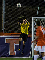 The number 24 ranked Furman Paladins took on the number 20 ranked Clemson Tigers in an inter-conference game at Clemson's Riggs Field.  Furman defeated Clemson 2-1.  Andrew Tarbell (22)