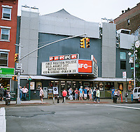 The IFC Theater in Greenwich Village in New York on Saturday,May 26, 2012. The theater is affiliated with the Independent Film Channel and shows movies outside the normal channels of distribution. (© Richard B. Levine)