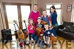 Two  brothers from Kilflynn, Daragh and Conor Breen will be preforming on the Late Late Toy Show pictured here with family Sarah, Thomas, Tom (Dad), Maura (Mom) Breen
