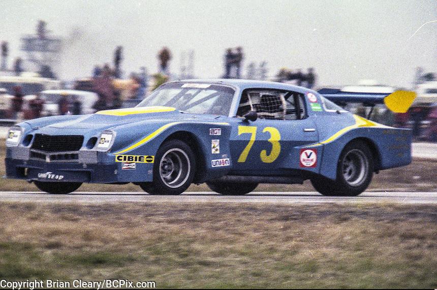 #73 Chevrolet Camaro, Clark Howey, Dale Koch, and David Crabtree 1978 24 Hours of Daytona, Daytona International Speedway, Daytona Beach, FL, February 5, 1978.  (Photo by Brian Cleary/www.bcpix.com)
