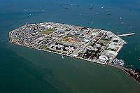 aerial photograph Treasure Island San Francisco, California