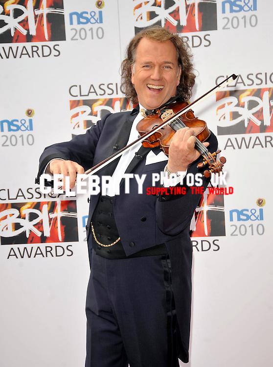 Classical BRIT Awards at Royal Albert Hall...London, England - 13.05.10