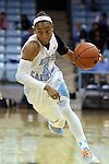 05 November 2014: North Carolina's Latifah Coleman. The University of North Carolina Tar Heels hosted the Carson-Newman University Eagles at Carmichael Arena in Chapel Hill, North Carolina in an NCAA Women's Basketball exhibition game. UNC won the game 88-27.