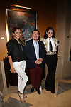 Four Seasons Hotel Miami With Dan Normandin, General Manager and Antonio Dominguez daughter  Isabel Dominguez de Haro<br /> Hosts Private Cocktail Reception to Celebrate the Antonio Dominguez de Haro Exhibition during Art Basel