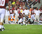 Alabama wide receiver Amari Cooper (9) vs. Ole Miss defensive back Wesley Pendleton (6) at Bryant-Denny Stadium in Tuscaloosa, Ala. on Saturday, September 29, 2012.