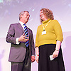 UKIP 2015 Spring Conference<br /> Winter Gardens, Margate, Great Britain <br /> 27th February 2015 <br /> <br /> Nigel Farage speech with Harriet Yeo <br /> <br /> Photograph by Elliott Franks <br /> Image licensed to Elliott Franks Photography Services