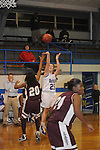 Water Valley vs. J.Z. George in girls high school basketball in Water Valley, Miss. on Tuesday, January 4, 2011.