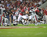 Ole Miss vs. Alabama running back Eddie Lacy (42) at Bryant-Denny Stadium in Tuscaloosa, Ala. on Saturday, September 29, 2012.