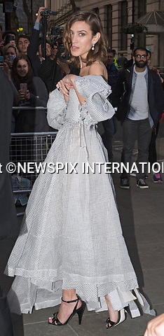 28.03.2017; London, UK: ALEXA CHUNG<br /> attends a fundraising gala at the National Portrait Gallery, London<br /> Mandatory Photo Credit: &copy;Francis Dias/NEWSPIX INTERNATIONAL<br /> <br /> IMMEDIATE CONFIRMATION OF USAGE REQUIRED:<br /> Newspix International, 31 Chinnery Hill, Bishop's Stortford, ENGLAND CM23 3PS<br /> Tel:+441279 324672  ; Fax: +441279656877<br /> Mobile:  07775681153<br /> e-mail: info@newspixinternational.co.uk<br /> Usage Implies Acceptance of OUr Terms &amp; Conditions<br /> Please refer to usage terms. All Fees Payable To Newspix International