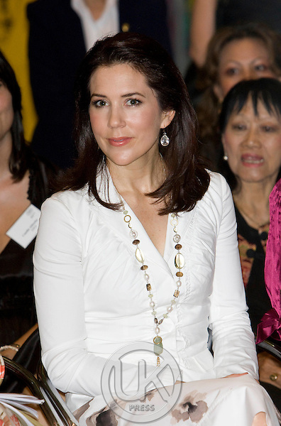 """Crown Prince Frederik & Crown Princess Mary of Denmark, on a Four Day official visit to Thailand, Crown Princess Mary visits  """" Danish Lifestyle ' Exhibition  at Central World ,Bangkok,"""
