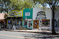 AUSTIN'S EAST 6TH STREET - Downtown East Side Arts, Retail, Bar District - Stock Photo Image Gallery