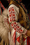 """Eagle Feathers"" dressed in his Native American Pow Wow Regalia. Examples of his ethnic pride, heritage,culture and is a celebration of traditional Native folk art crafts."