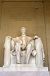 DC: Washington, DC Monuments, Lincoln Memorial         .Photo Copyright Lee Foster, lee@fostertravel.com, www.fostertravel.com, (510) 549-2202.Image washdc201