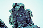Versailles Statue Équestre Louis Le Grand, Louis Xiv On Horse