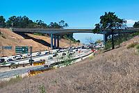Sepulveda pass, l-405 Freeway, Mulholland Bridge,  Widening Project, Los Angeles, CA