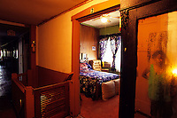"Bessie Smith room at the Riverside Hotel in Clarksdale MS. Selections for the series ""Along the Blues Highway"". Copyright © all rights reserved. No reproduction without expressed written consent."