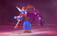 ***** NO FEE PIC*****.26/12/2010.Characters from Beauty & The Beast.during  Disney On Ice : 100 Years of Magic at the Citywest Hotel , Dublin..Disney on Ice runs from 26th December till the 2nd January 2011 with tickets available from Ticketmaster & Box Offices for all shows. .Photo: Gareth Chaney Collins
