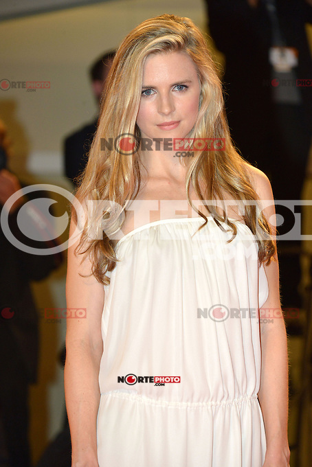 VENICE, ITALY - AUGUST 30: Actress Brit Marling attends 'The Iceman' Premiere during the 69th Venice International Film Festival at Palazzo del Casino on August 30, 2012 in Venice, Italy AFG / Mediapunchinc /NortePhoto.com<br />