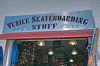 Skateboarding Stuff, Store, Oceanfront Walk, Venice, CA, Ocean Front Walk, Venice Beach, Los Angeles, California, United States of America