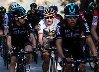 Picture by Alex Broadway/SWpix.com - 11/03/17 - Cycling - 2017 Paris Nice - Stage Seven - Nice to Col de la Couillole - Sergio Henao of Team Sky in action.
