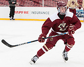 JD Dudek (BC - 15) - The Boston College Eagles practiced at Fenway on Friday, January 6, 2017, in Boston, Massachusetts.