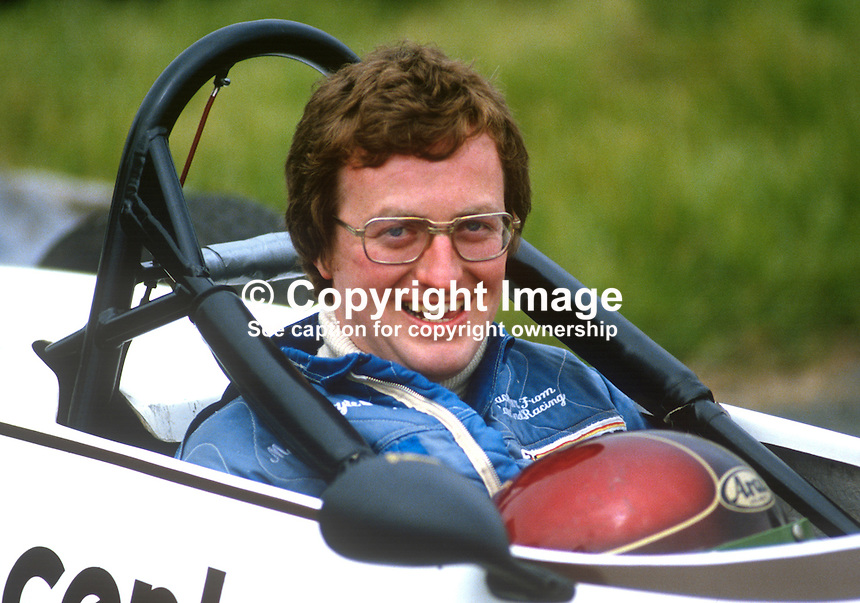 George Dixon, Wicklow, Rep of Ireland, racing driver, 19850604GD1..Copyright Image from Victor Patterson, 54 Dorchester Park, Belfast, UK, BT9 6RJ..Tel: +44 28 9066 1296.Mob: +44 7802 353836.Voicemail +44 20 8816 7153.Skype: victorpattersonbelfast.Email: victorpatterson@me.com.Email: victorpatterson@ireland.com (back-up)..IMPORTANT: If you wish to use this image or any other of my images please go to www.victorpatterson.com and click on the Terms & Conditions. Then contact me by email or phone with the reference number(s) of the image(s) concerned.